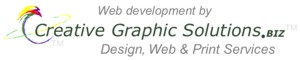 Web Development by Creative Graphic Solutions.BIZ... Design, Web, and Print Services.